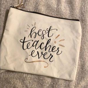 Handbags - Best teacher ever all purpose bag